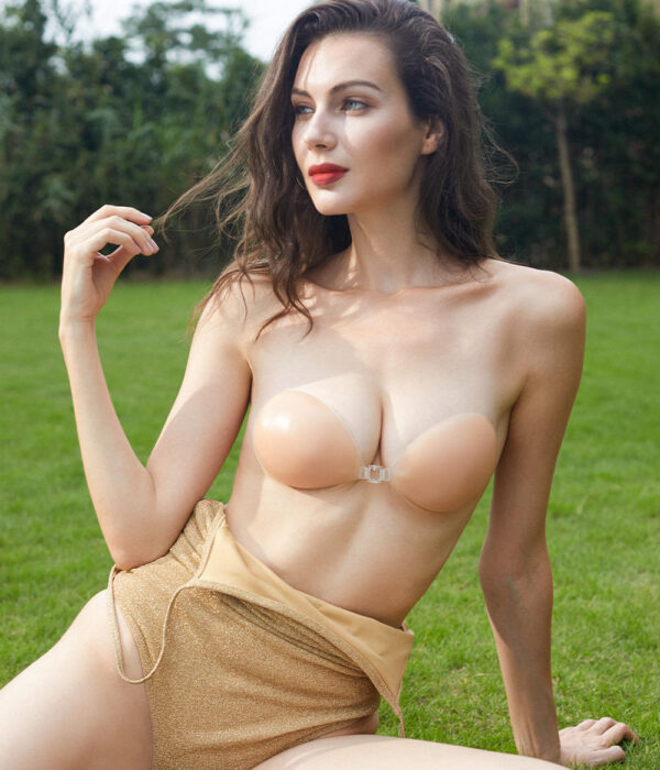 Backless Strapless Stick-on Silicone Bras