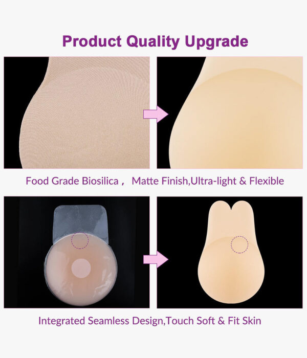 Breast Lift Silicone Ultra-Thin Pasties Nipple Covers - Niidor