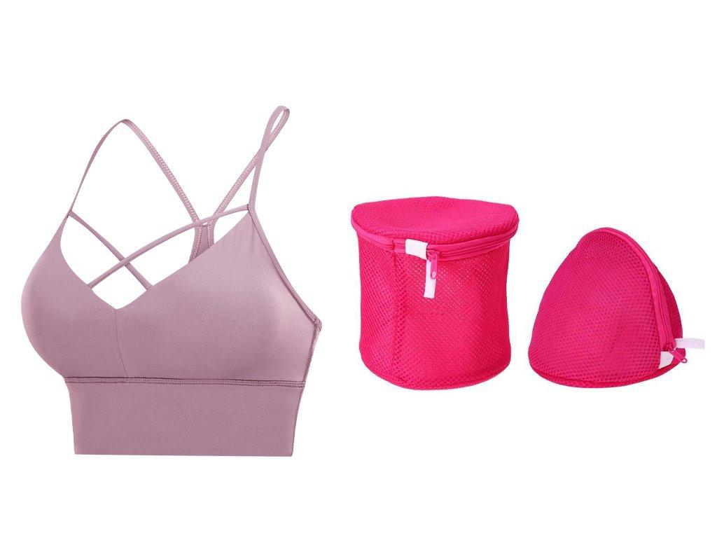 Invisible bra strap