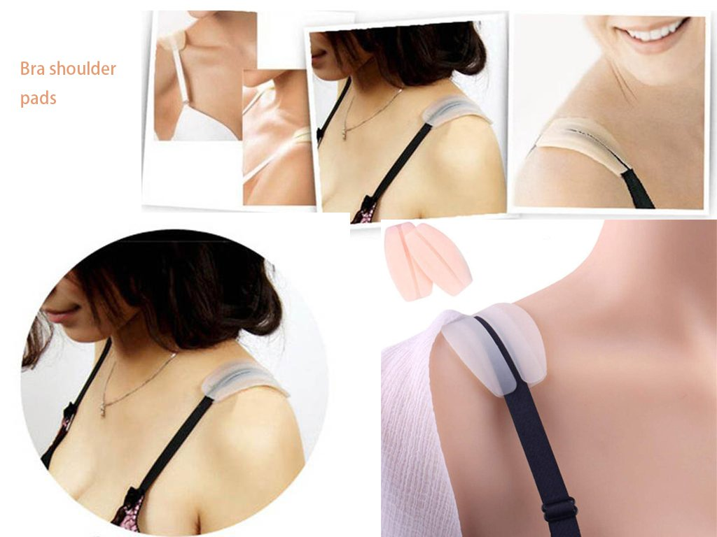 Bra shoulder pads