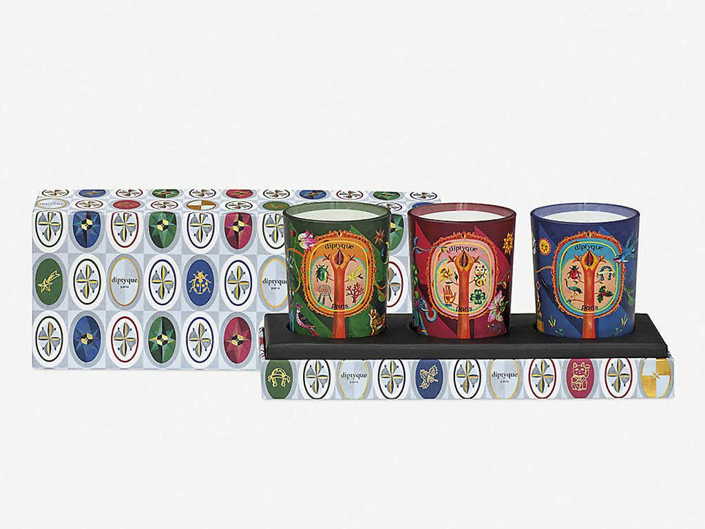 Diptyque Limited-Edition Candle Set Of Thre